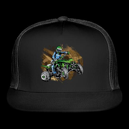 Green ATV Mudding - Trucker Cap