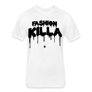 FASHION KILLA - A$AP ROCKY - Men's Shirt - Fitted Cotton/Poly T-Shirt by Next Level