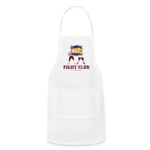 Roy's Fight Club - Burgundy - Mens T-Shirt - Adjustable Apron