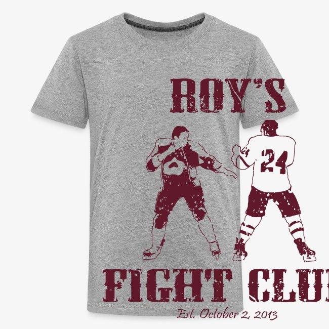 Roy's Fight Club - Burgundy - Mens T-Shirt