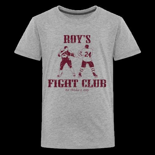 Roy's Fight Club - Burgundy - Mens T-Shirt - Kids' Premium T-Shirt