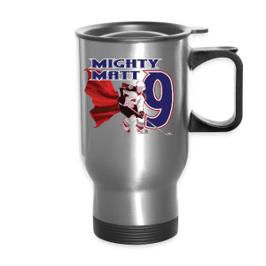 Mighty Matt - Mens T-Shirt - Travel Mug