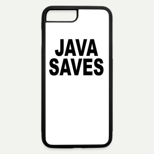 Java Saves - iPhone 7 Plus/8 Plus Rubber Case