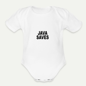 Java Saves - Short Sleeve Baby Bodysuit