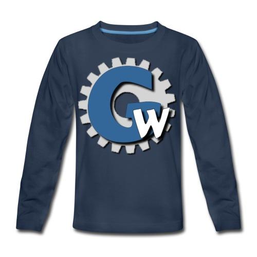 Gear Websites - Kids' Premium Long Sleeve T-Shirt