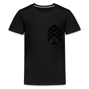 Hoodie Zip-up - Kids' Premium T-Shirt