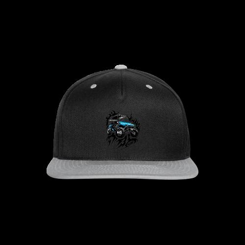 Flaming Blue UTV - Snap-back Baseball Cap