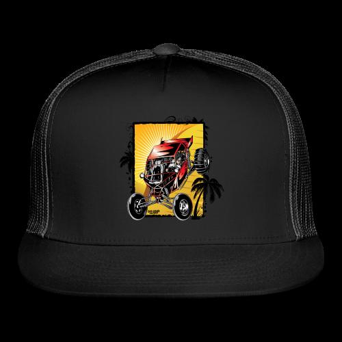Red Downhill Dune Buggy - Trucker Cap