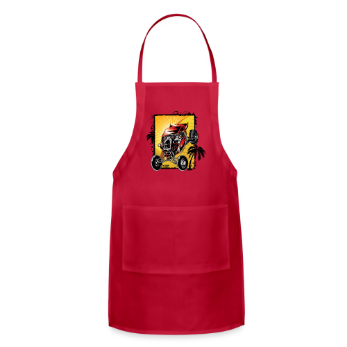 Red Downhill Dune Buggy - Adjustable Apron