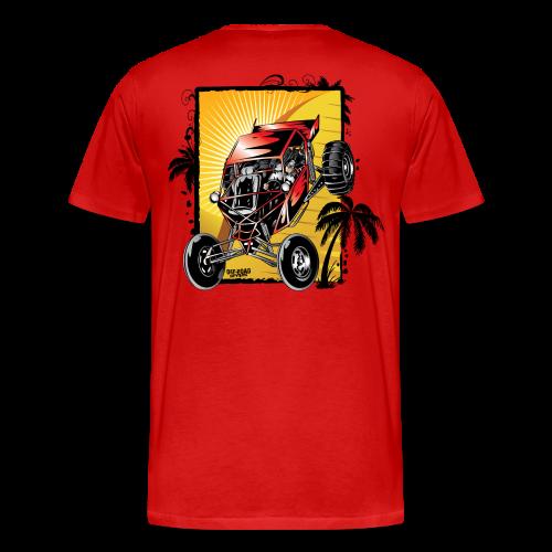 Red Downhill Dune Buggy - Men's Premium T-Shirt