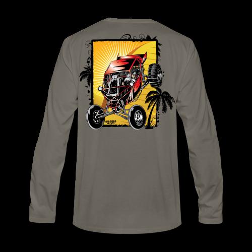 Red Downhill Dune Buggy - Men's Premium Long Sleeve T-Shirt