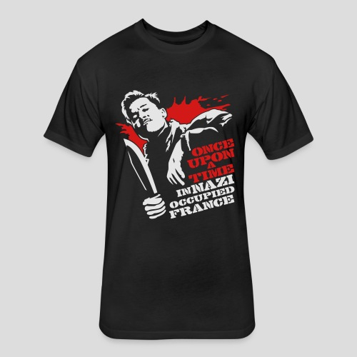 Inglourious Basterds: Once Upon a Time - Fitted Cotton/Poly T-Shirt by Next Level