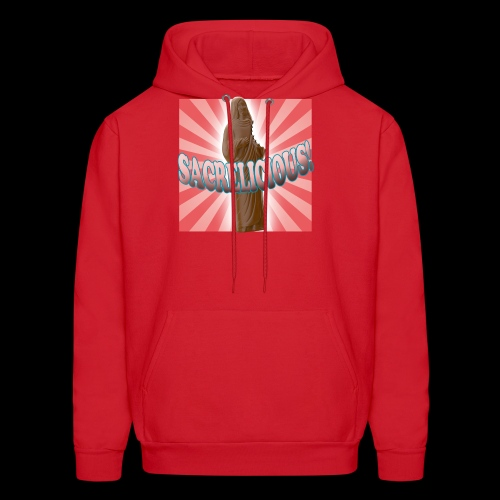 Men's Hoodie - Sacrelicious - www.TedsThreads.co Easter is sacrelicious!