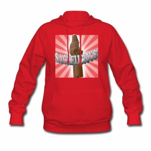 Women's Hoodie - Sacrelicious - www.TedsThreads.co