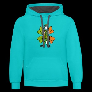 Contrast Hoodie - Tough Luck - www.TedsThreads.co