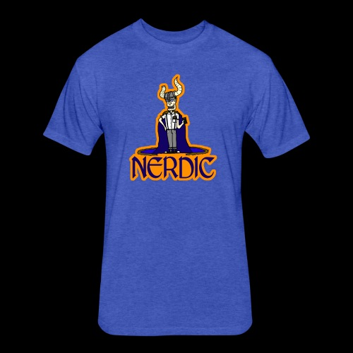 Nerdic Warrior - www.TedsThreads.co - Fitted Cotton/Poly T-Shirt by Next Level