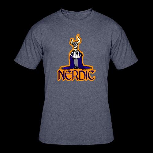 Nerdic Warrior - www.TedsThreads.co - Men's 50/50 T-Shirt