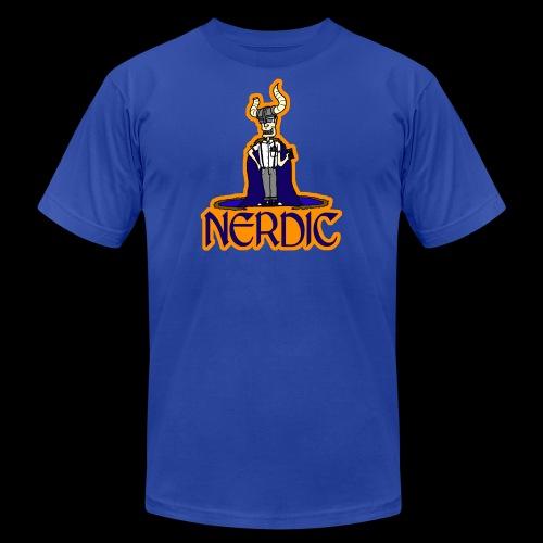 Nerdic Warrior - www.TedsThreads.co - Men's Fine Jersey T-Shirt