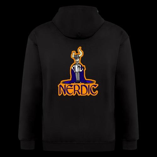 Nerdic Warrior - www.TedsThreads.co - Men's Zip Hoodie