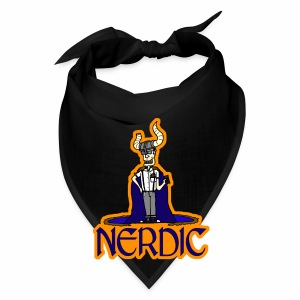 Nerdic Warrior - www.TedsThreads.co - Bandana