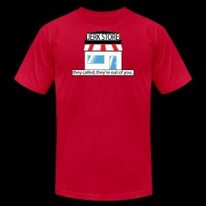 Jerk Store -www.TedsThreads.co - Men's Fine Jersey T-Shirt