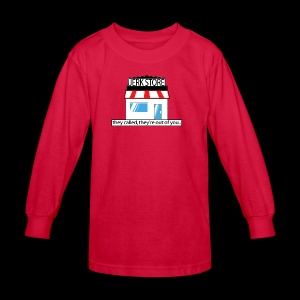 Jerk Store -www.TedsThreads.co - Kids' Long Sleeve T-Shirt