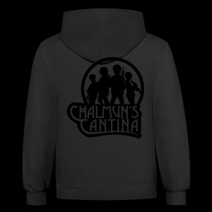 Contrast Hoodie - Chalmuns Cantina - www.TedsThreads.co Play that same song over and over and over!