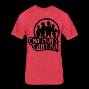 Fitted Cotton/Poly T-Shirt by Next Level - Chalmuns Cantina - www.TedsThreads.co Play that same song over and over and over!