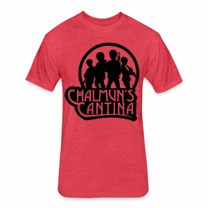 Fitted Cotton/Poly T-Shirt by Next Level - Chalmuns Cantina - www.TedsThreads.co
