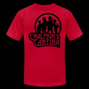 Men's Fine Jersey T-Shirt - Chalmuns Cantina - www.TedsThreads.co Play that same song over and over and over!