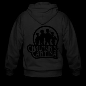 Men's Zip Hoodie - Chalmuns Cantina - www.TedsThreads.co Play that same song over and over and over!