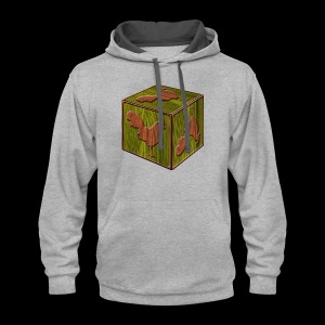 Rooster Block - www.TedsThreads.co - Contrast Hoodie