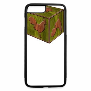 Rooster Block - www.TedsThreads.co - iPhone 7 Plus Rubber Case