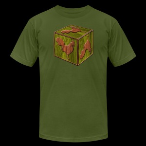 Rooster Block - www.TedsThreads.co - Men's Fine Jersey T-Shirt