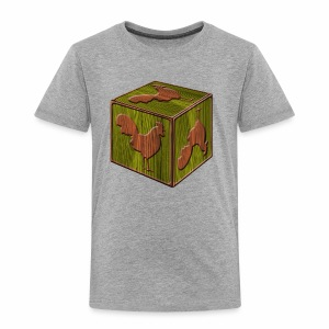 Rooster Block - www.TedsThreads.co - Toddler Premium T-Shirt