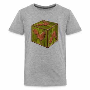 Rooster Block - www.TedsThreads.co - Kids' Premium T-Shirt