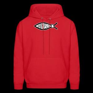 Baby Jesus Fish - www.TedsThreads.co - Men's Hoodie