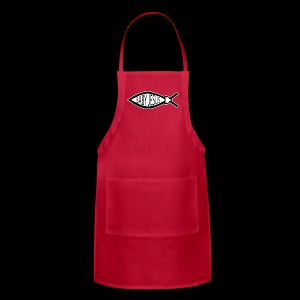 Baby Jesus Fish - www.TedsThreads.co - Adjustable Apron