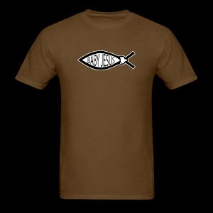 Baby Jesus Fish - www.TedsThreads.co - Men's T-Shirt