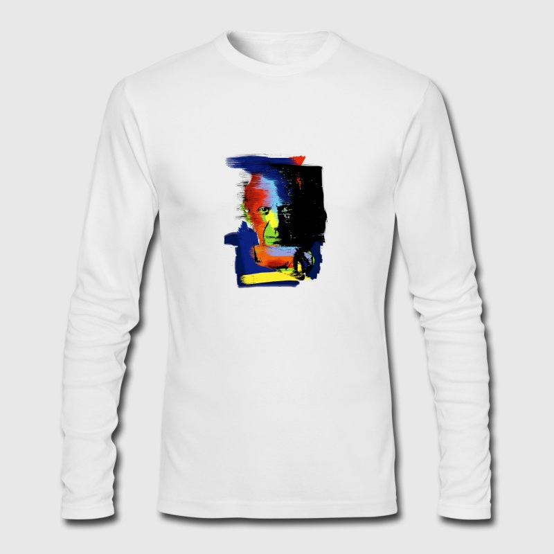 Picasso Portrait Long Sleeve Shirts - Men's Long Sleeve T-Shirt by Next Level