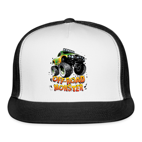 Off-Road Monster Truck - Trucker Cap
