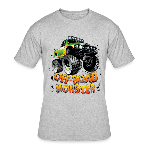 Off-Road Monster Truck - Men's 50/50 T-Shirt