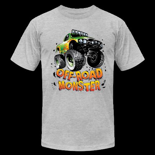 Off-Road Monster Truck - Men's Fine Jersey T-Shirt