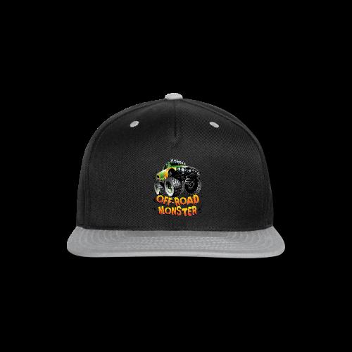 Off-Road Monster Truck - Snap-back Baseball Cap