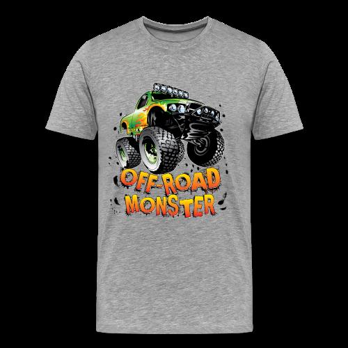 Off-Road Monster Truck - Men's Premium T-Shirt