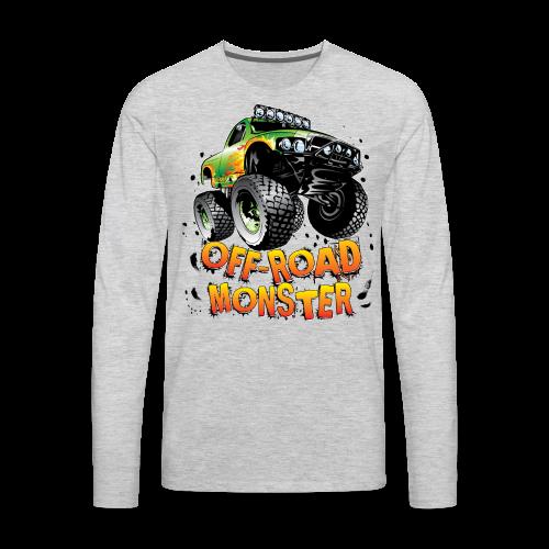 Off-Road Monster Truck - Men's Premium Long Sleeve T-Shirt