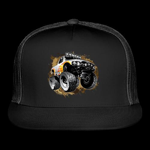 Monster Mudding Truck - Trucker Cap