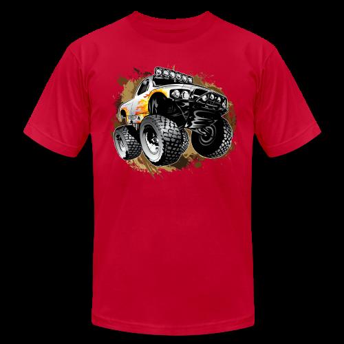 Monster Mudding Truck - Men's Fine Jersey T-Shirt