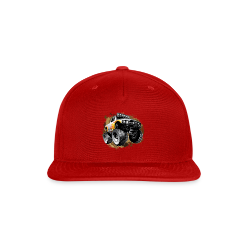 Monster Mudding Truck - Snap-back Baseball Cap