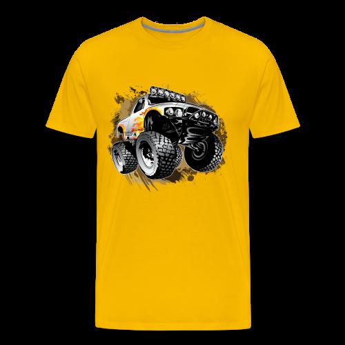 Monster Mudding Truck - Men's Premium T-Shirt